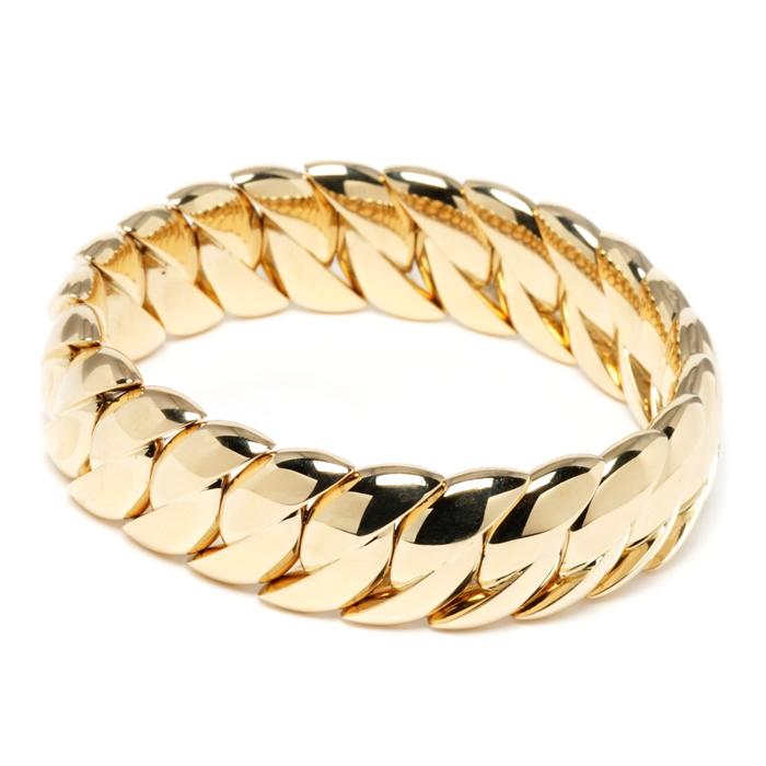 Gold Classic Stretch Bracelet