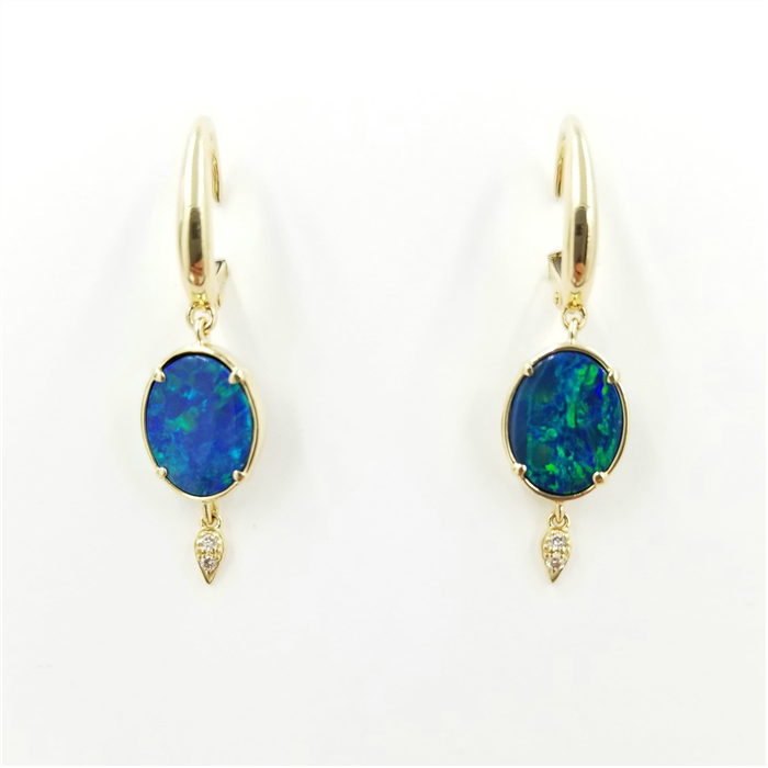 Petite Opal Earrings