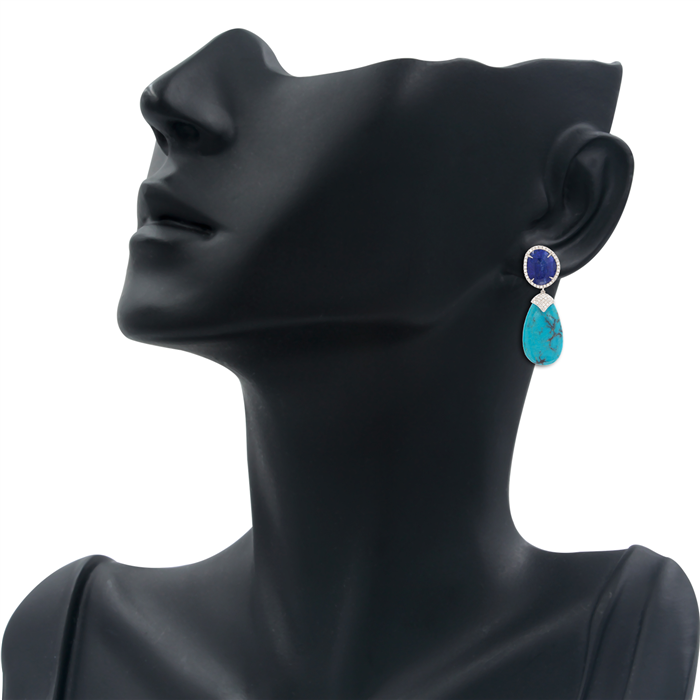 Blue Mood Earrings