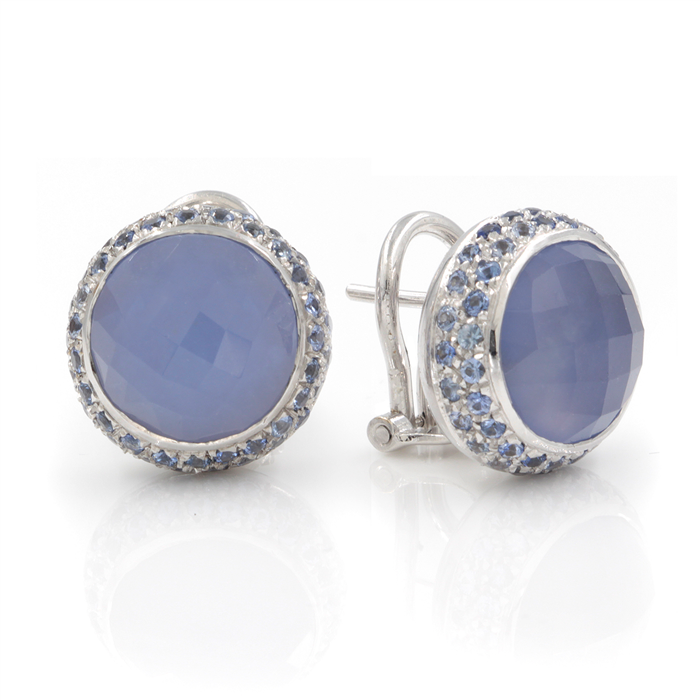 Once in A Blue Stud Earrings