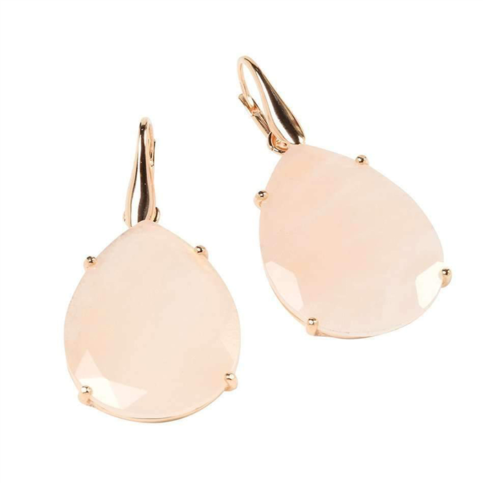 Bold drop Pink Earrings