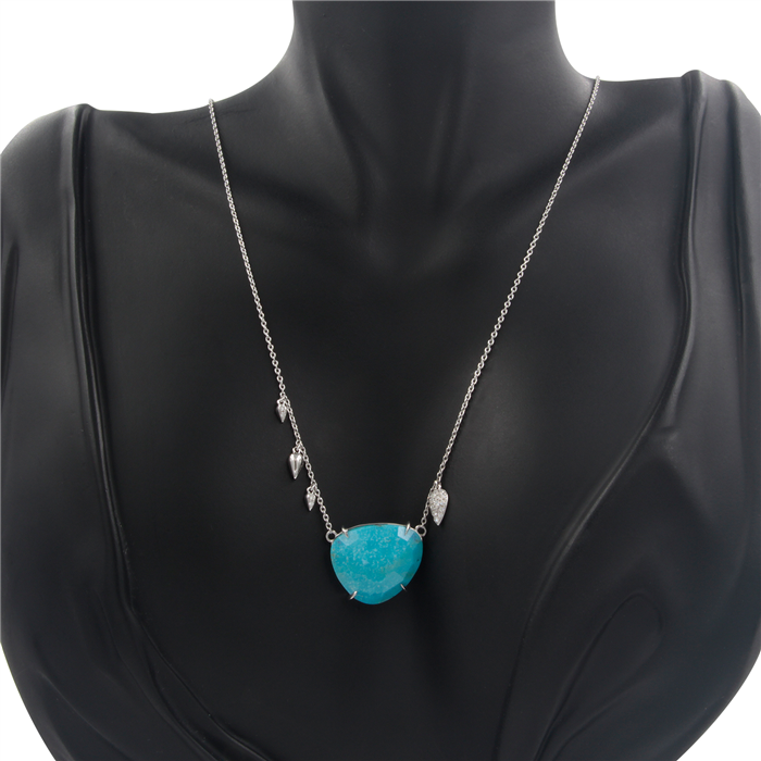 Charming Everyday Turquoise Necklace