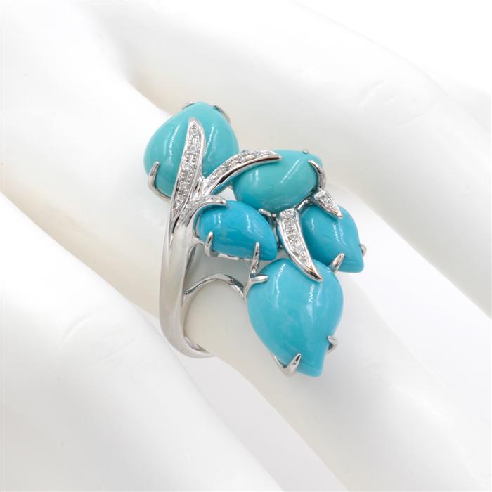 Unique Turquoise Fashion Ring