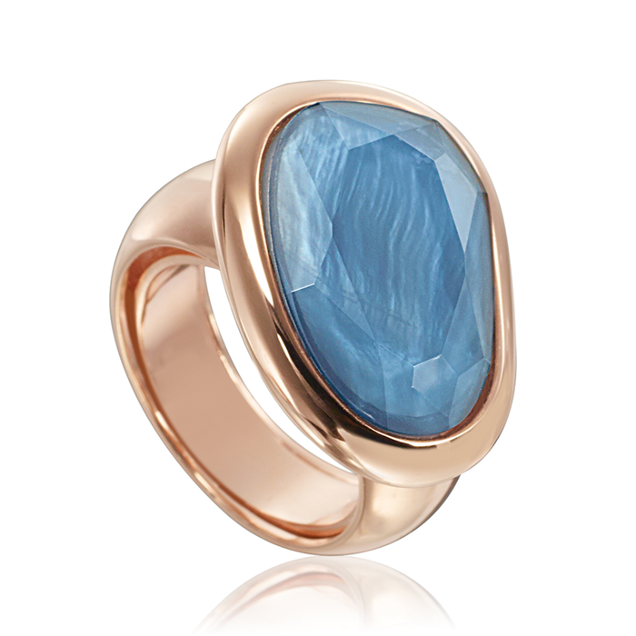 Light Blue Aventurine ring