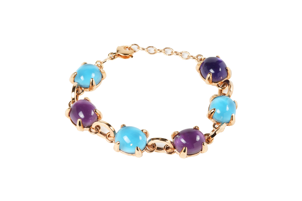 Crystal Bubble Bracelet