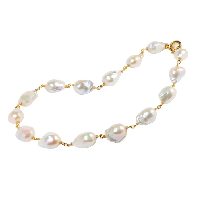 "20"" Baroque Pearl Necklace"