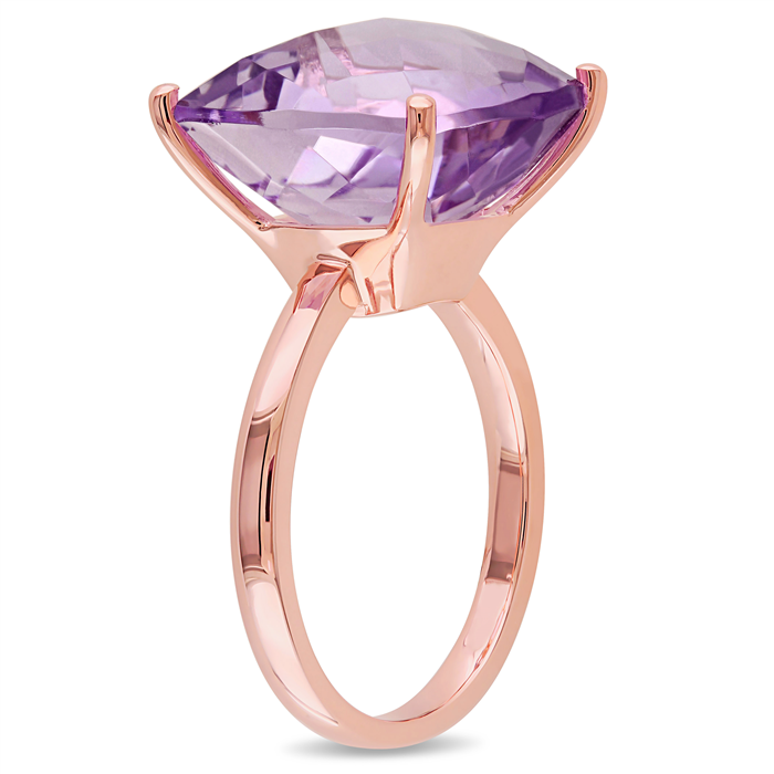 Pink Amethyst Fashion Ring