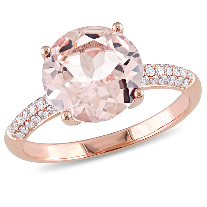 Morganite Fashion Ring